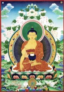 Shakyamuni Buddha pequeña